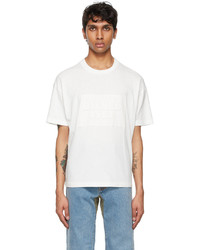 Diesel White D4d 20 T Shirt