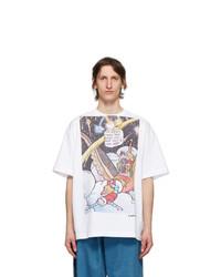 Lanvin White Fireworks T Shirt
