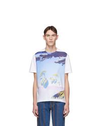 Valentino White Floating Islands T Shirt
