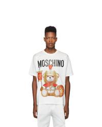 Moschino White Gladiator Teddy T Shirt