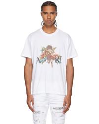 Amiri White Graphic Cherub T Shirt