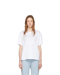 Stella McCartney White Happy Logo T Shirt