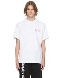 Vetements White Human Identity T Shirt