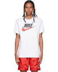 Nike White Icon Futura T Shirt