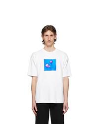 Acne Studios White Jellyfish Patch T Shirt