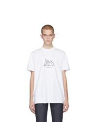 A.P.C. White Jjjjound Edition Rough T Shirt