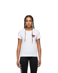 Kenzo White Limited Edition Valentines Day Lucky Tiger T Shirt