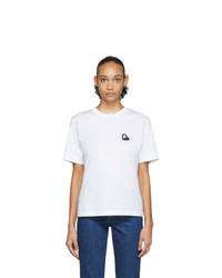 Chloé White Logo T Shirt