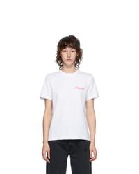 MSGM White Logo T Shirt