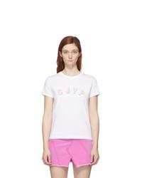 Sjyp White Logo T Shirt