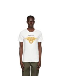 Versace White Medusa Graphic T Shirt