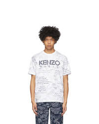 Kenzo White Mermaids T Shirt