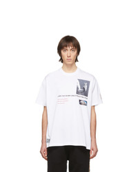 Burberry White Montage T Shirt
