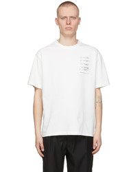 C2h4 White My Own Private Planet Score Of The Planet T Shirt