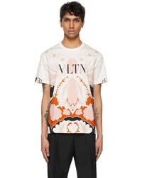 Valentino White Pink Vltn T Shirt