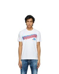 DSQUARED2 White Retro 64 T Shirt