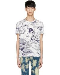 Gucci White Sea Storm T Shirt