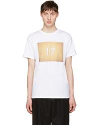 A.P.C. White Seventeen T Shirt