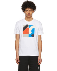 Kenzo White Sport Logo T Shirt