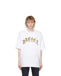 Diesel White T Ball A1 T Shirt