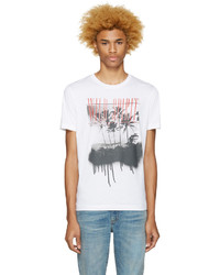 Diesel White T Joe Me Wild Spirit T Shirt