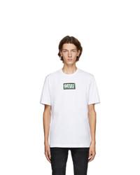 Diesel White T Just X62 T Shirt