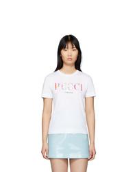 Emilio Pucci White T Shirt