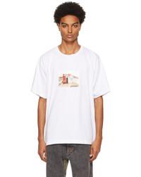 Diesel White T Tubolar B2 T Shirt