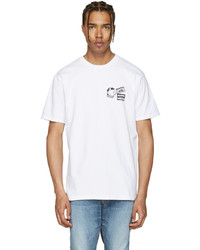 Vans White Taka Hayashi Edition Scene Meow T Shirt