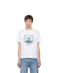 Kenzo White Tiger T Shirt