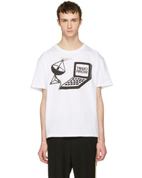 Stella McCartney White Tomorrow Computer T Shirt