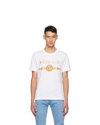Versace White Vintage Medusa Taylor T Shirt