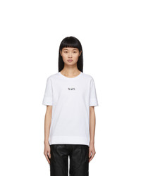 Stella McCartney White We Are The Weather Sos T Shirt