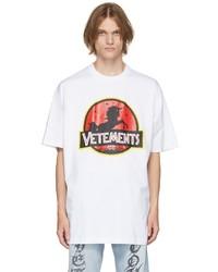 Vetements White Wild Unicorn T Shirt
