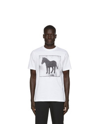 Ps By Paul Smith White Zebra Box T Shirt