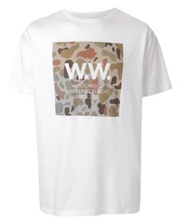 Wood Wood Ww Square Relaxed Fit T Shirt