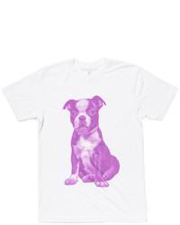 Areaware X Fab Boston Terrier Tee Purple