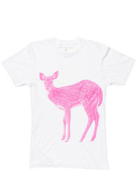 Areaware X Fab Deer Tee Magenta