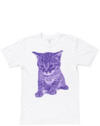 Areaware X Fab Kitten Tee Purple
