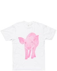 Areaware X Fab Pig Tee Pink