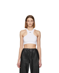 Off-White White Rowing Tank Top
