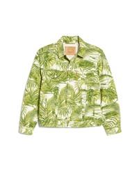 Levi's Vintage Fit Tropical Print Trucker Jacket