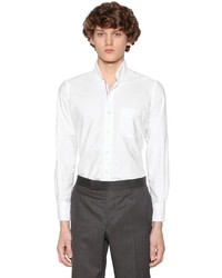 Thom Browne Cotton Oxford Shirt W Printed Stripes