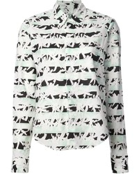 Kenzo Graphic Print Shirt