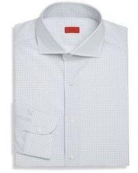 Micro printed dress shirt medium 955730