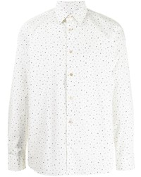 Paul Smith Music Note Print Button Down Shirt