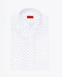Printed cotton dress shirt medium 4985665