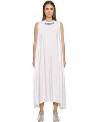 Golden Goose Deluxe Brand Trademarked Printed Fluid Dress