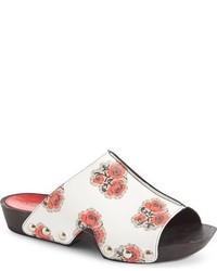 Alexander McQueen Printed Slide Sandal
