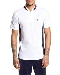 Fila Moretti Short Sleeve Zip Henley Shirt